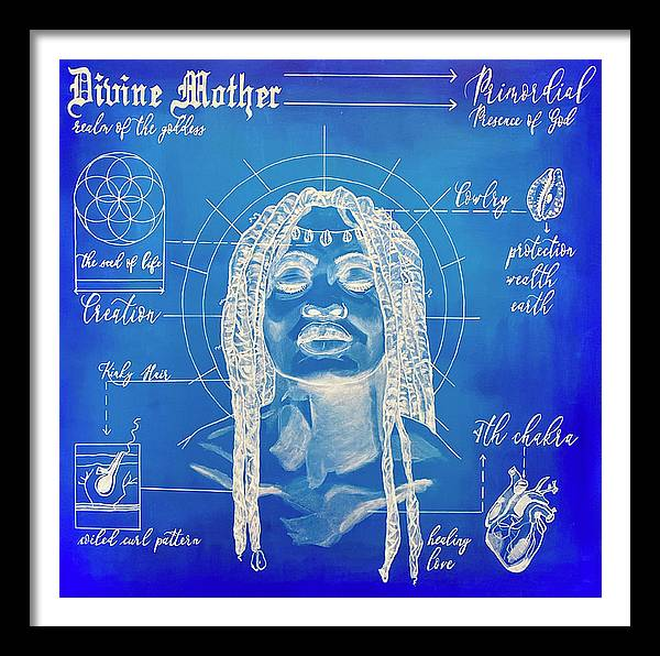 "Image of ""Divine Mother"" Blueprint Series Limited Edition Prints"