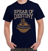 Image of SPEAR OF DESTINY 'Worldservice@35' Pre-Order Tour T-Shirt