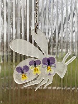 Image of Pressed Flower Bee #4