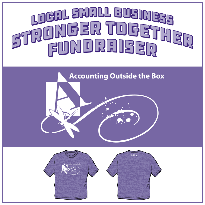 Accounting Outside the Box Stronger Together Fundraiser