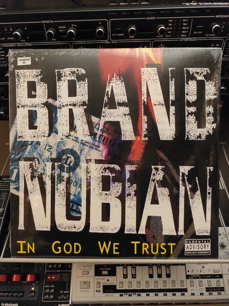 Image of Brand Nubian ‎– In God We Trust