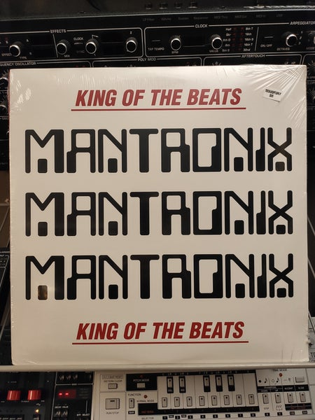 Image of Mantronix ‎– King Of The Beats : Anthology 1985 - 1988