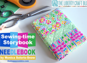 Image of Sewingtime Story-book Needlebook PDF tutorial