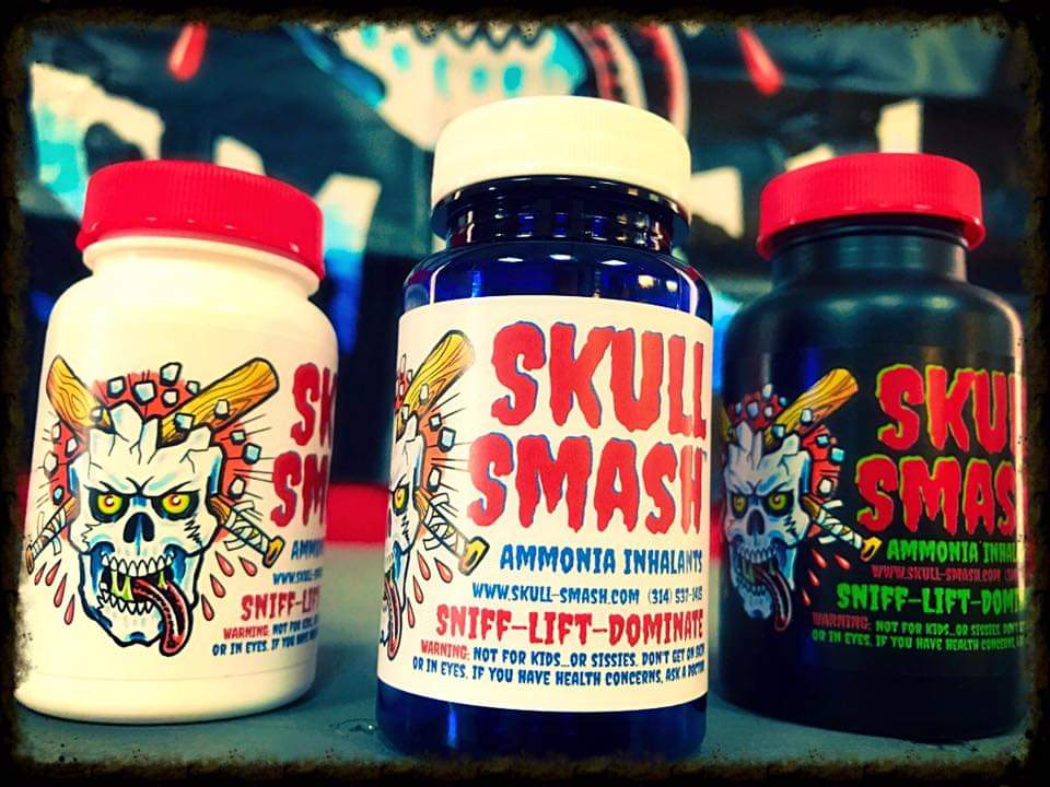 Image of Skull Smash Ammonia Inhalants