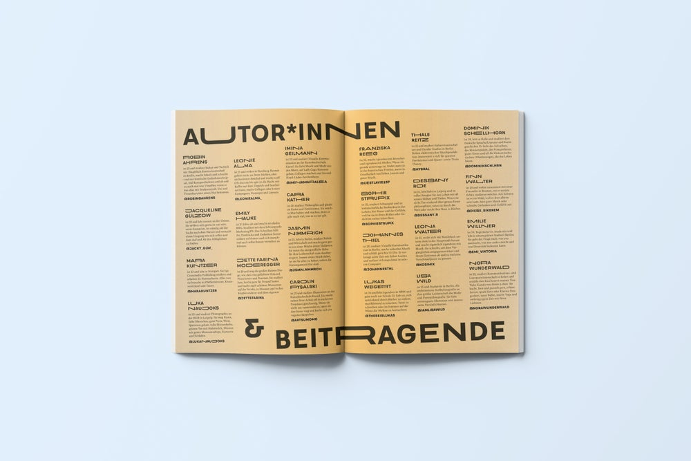 Image of TIERINDIR Magazin No. 1 WILDE ZEITEN