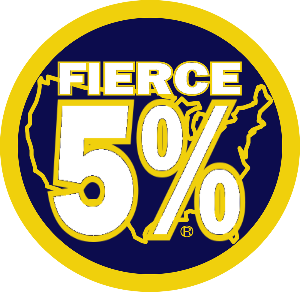 Image of FIERCE 5% DECAL