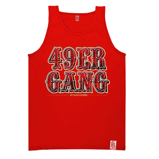 Image of 49ER GANG TANK (red)