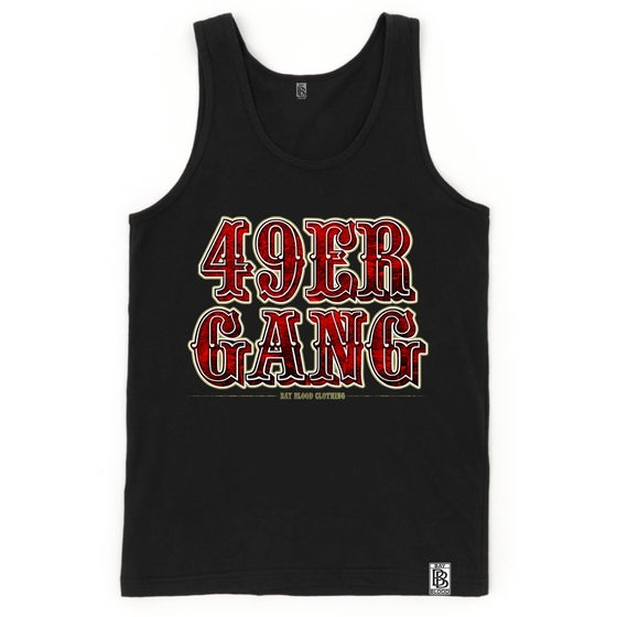 Image of 49ER GANG TANK (black)