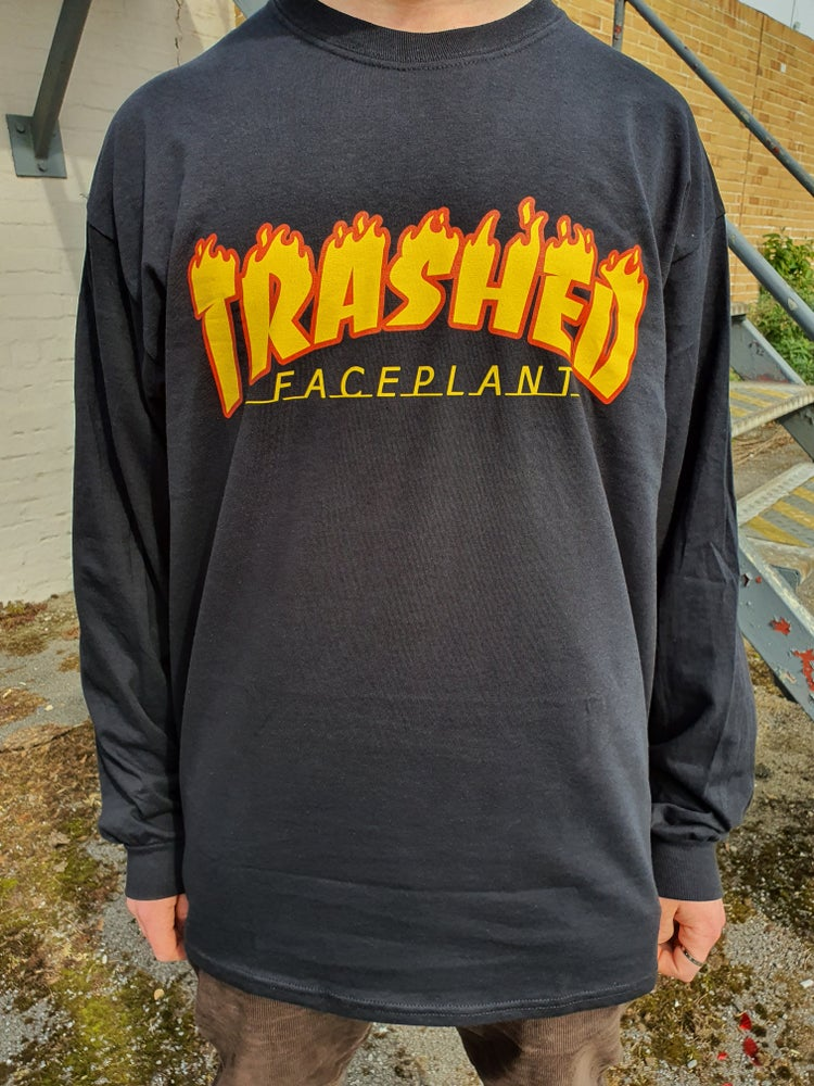 Image of 'Faceplant' Long-Sleeve