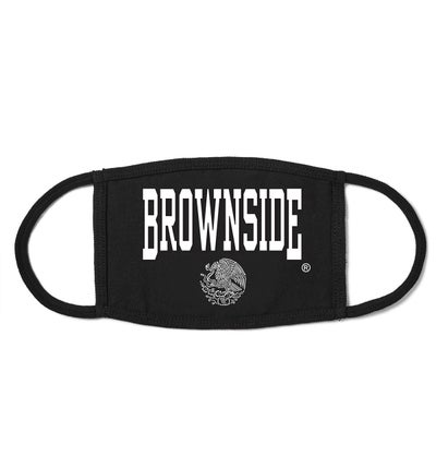 Image of BROWNSIDE LOGO FACE MASK