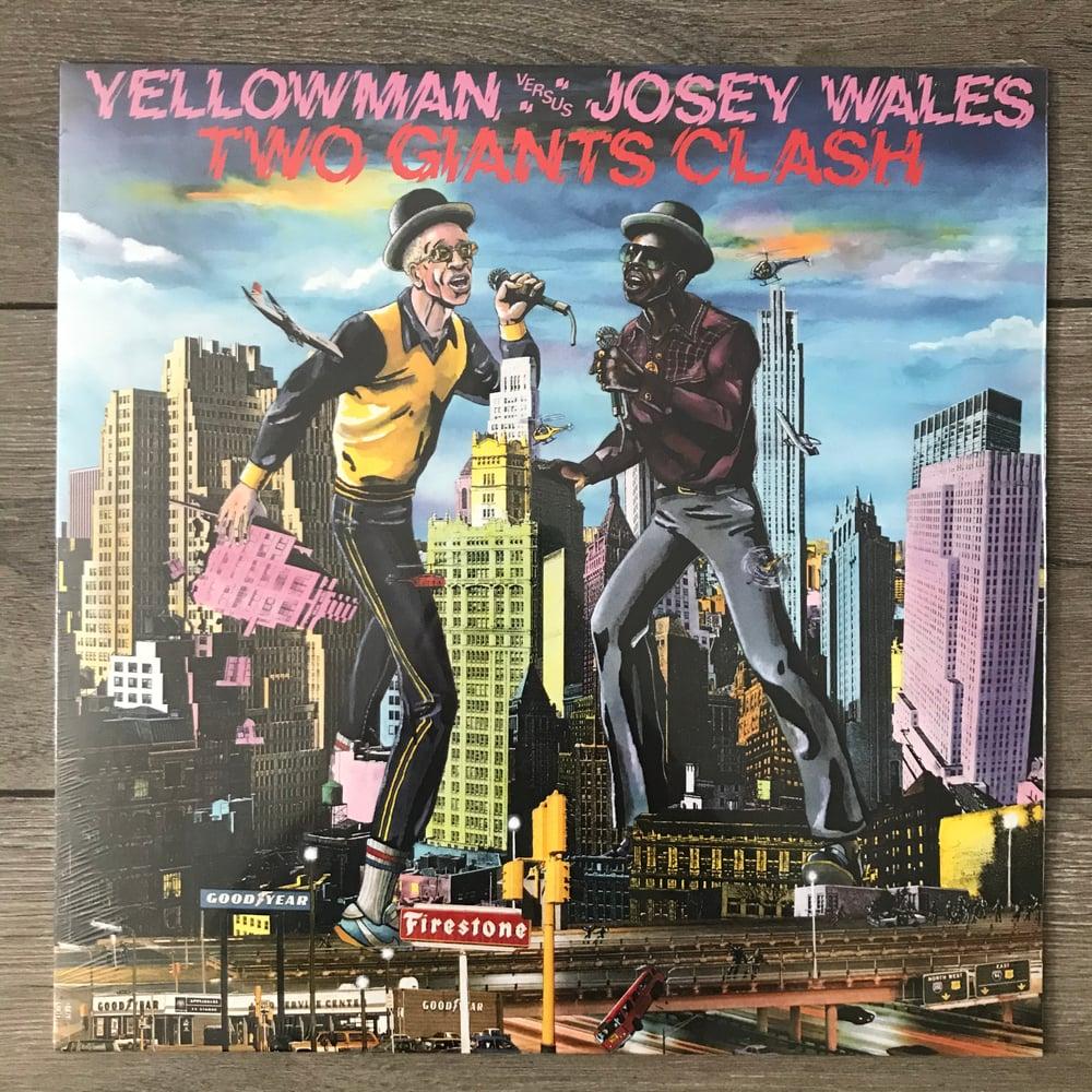 Image of Yellowman vs Josey Wales - Two Giants Clash Vinyl LP
