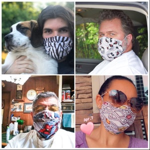 Image of Fabric Pocket Masks