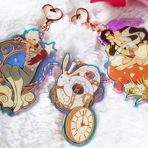 Image of Apprentice in Wonderland Acrylic Charms