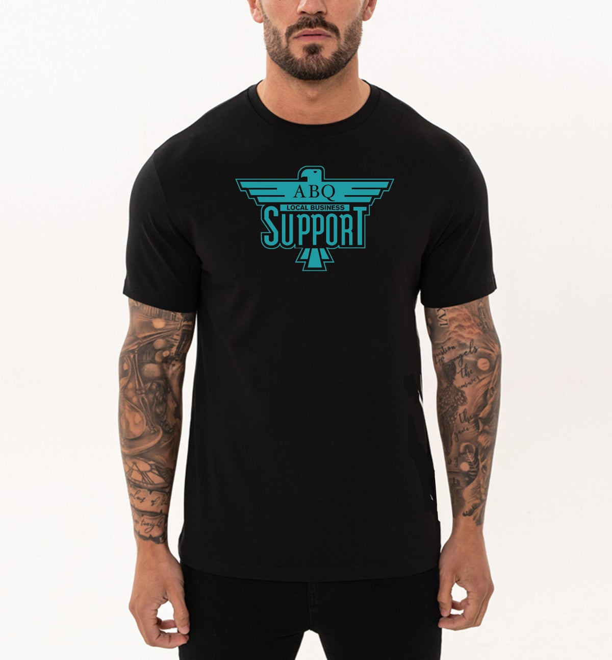 "Support Local ""Sunport"" Flip"