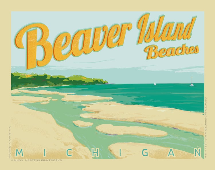 Image of Beaver Island Special Edition 11x14 Print No. [094]