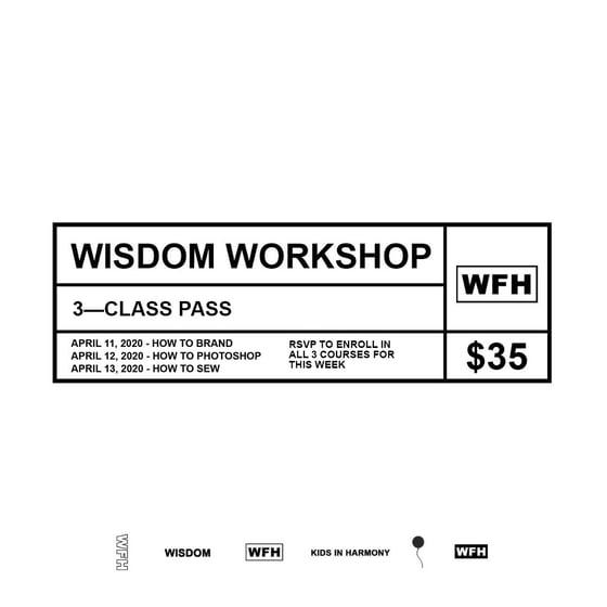 Image of 3 CLASS PASS