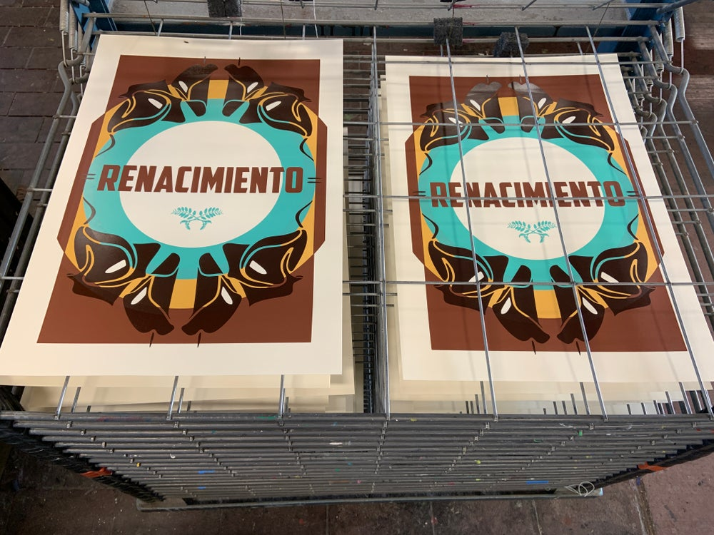 "Image of ""Renacimiento"" Limited Edition Screenprint"