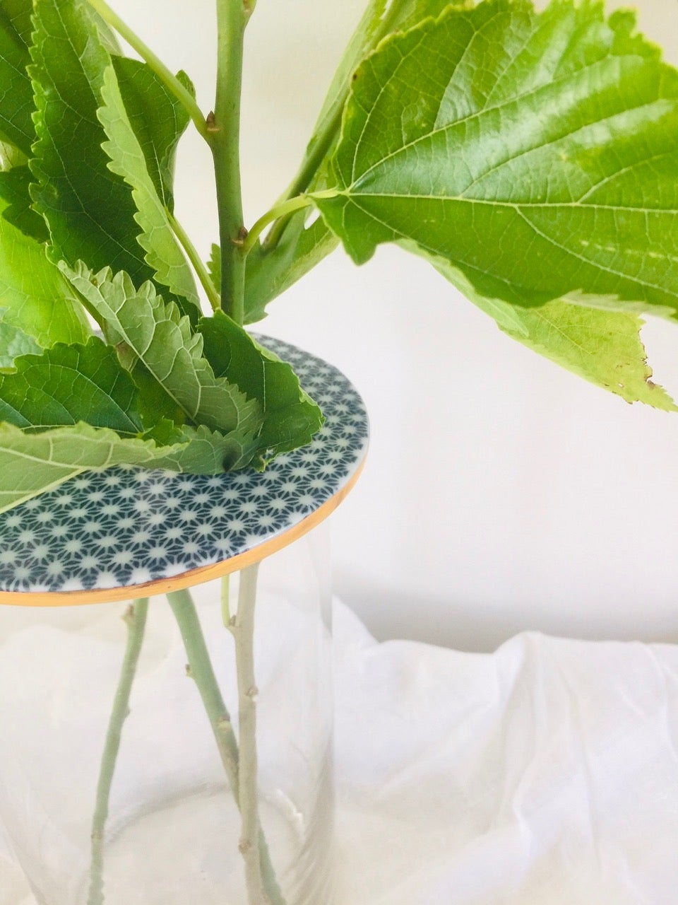 Image of Tall Lily Pad Vase: 3 Designs