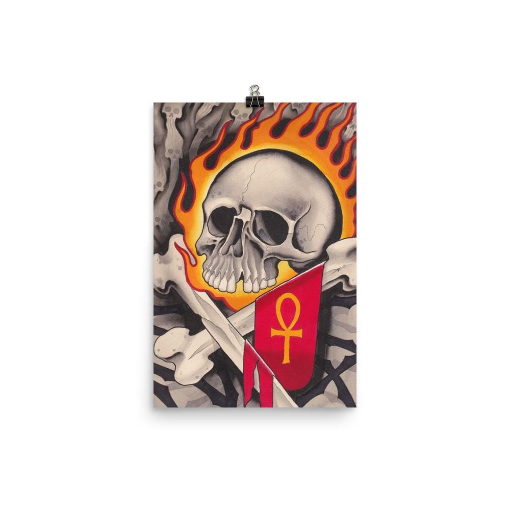Death Skull Print