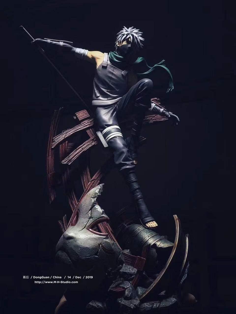 Image of [In-Stock]Naruto MH Studio Kakashi Anbu Resin Statue