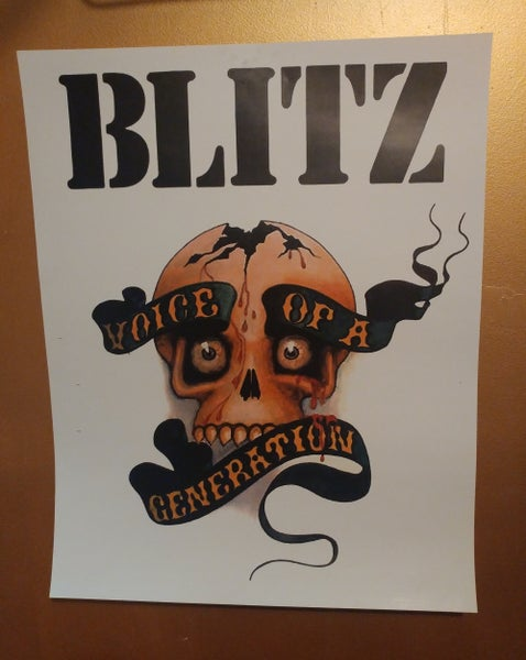 Image of Blitz color poster 22x28