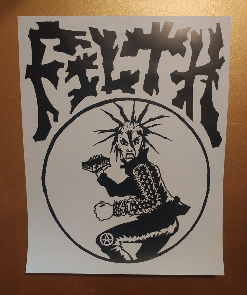 Image of Filth punk poster 22x28