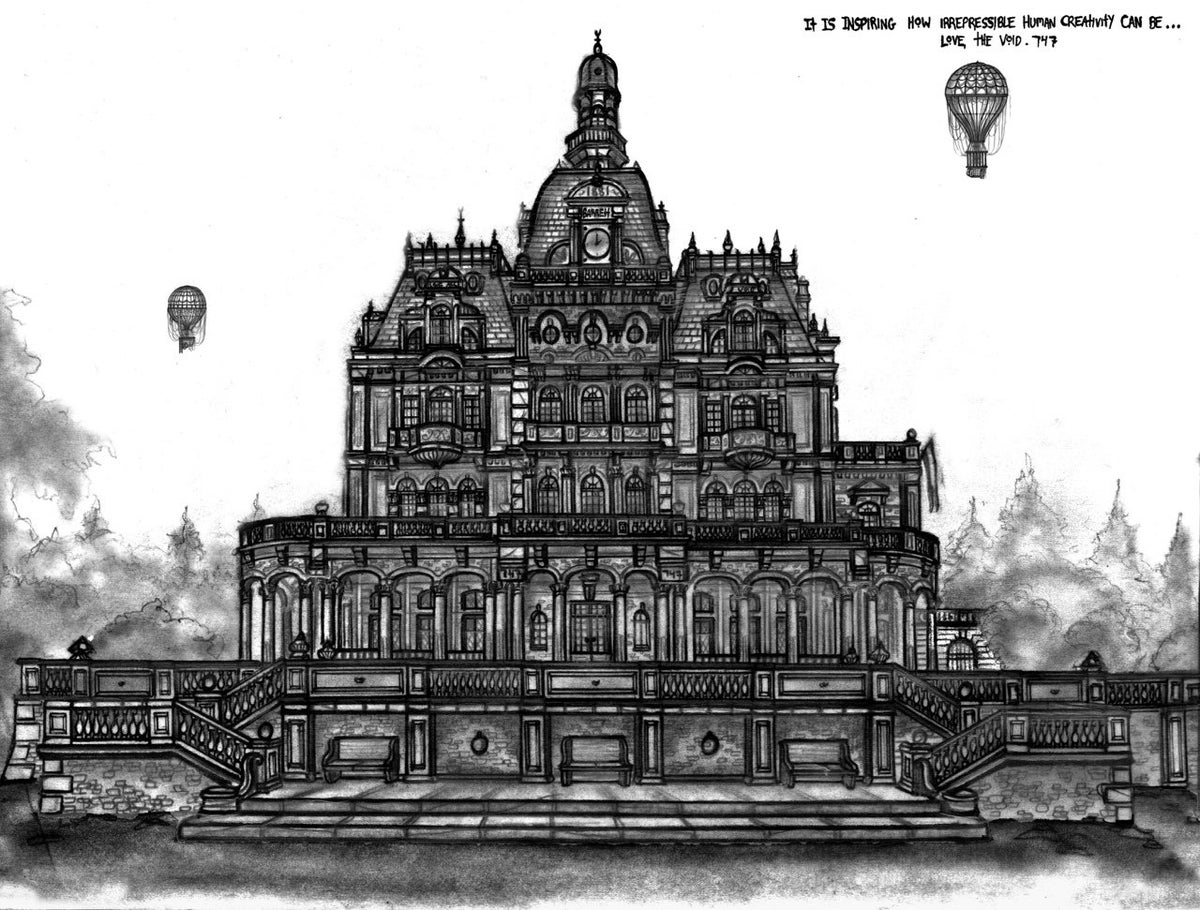 Image of Little Bastards Manor - Limited Edition Autographed Print