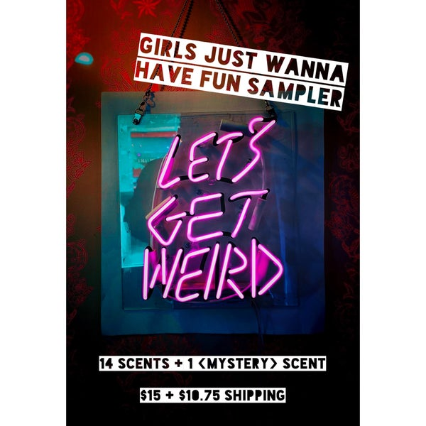 Image of Girls Just Wanna Have Fun Sampler - PREORDER