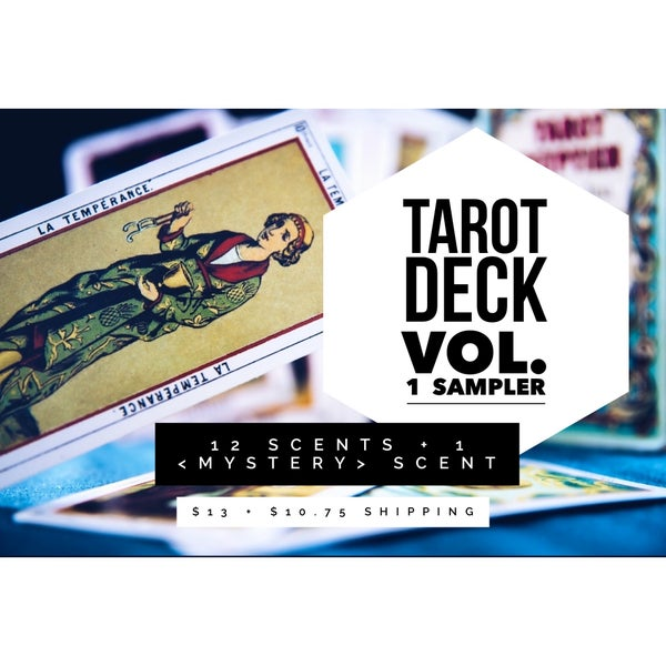 Image of Tarot Deck Vol. 1 Sampler - PREORDER