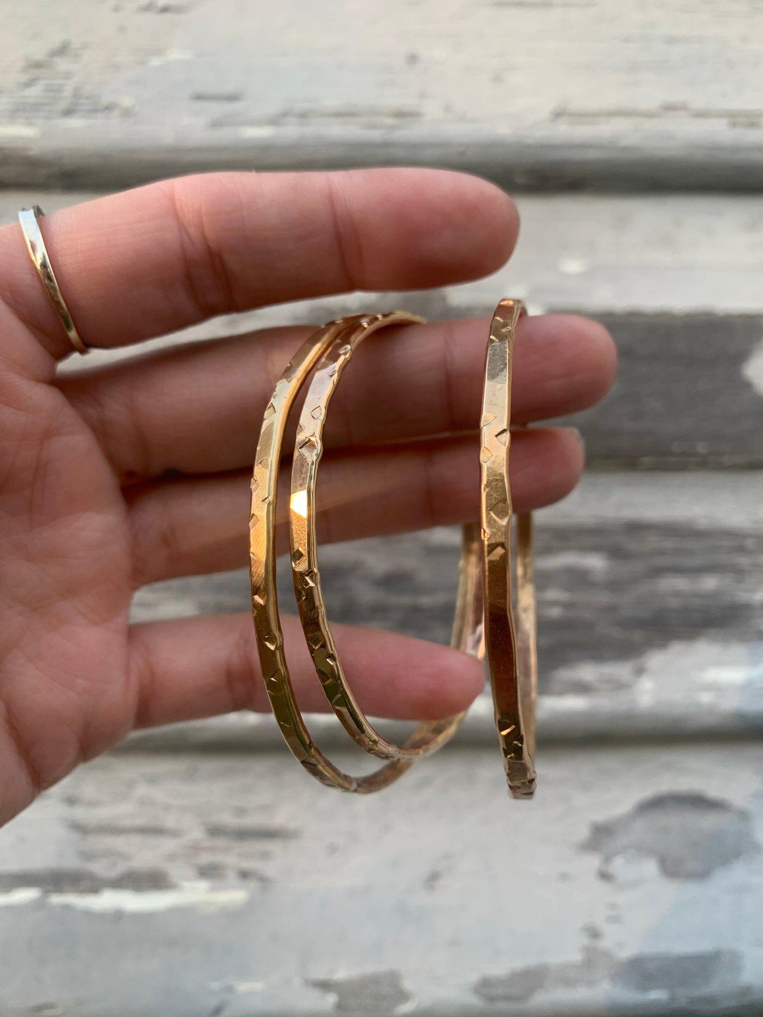 Image of Textured Bracelets
