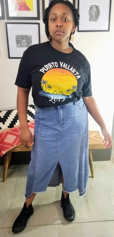Image of Puerto Vallarta Travel Graphic Print XL/Women's Plus Size
