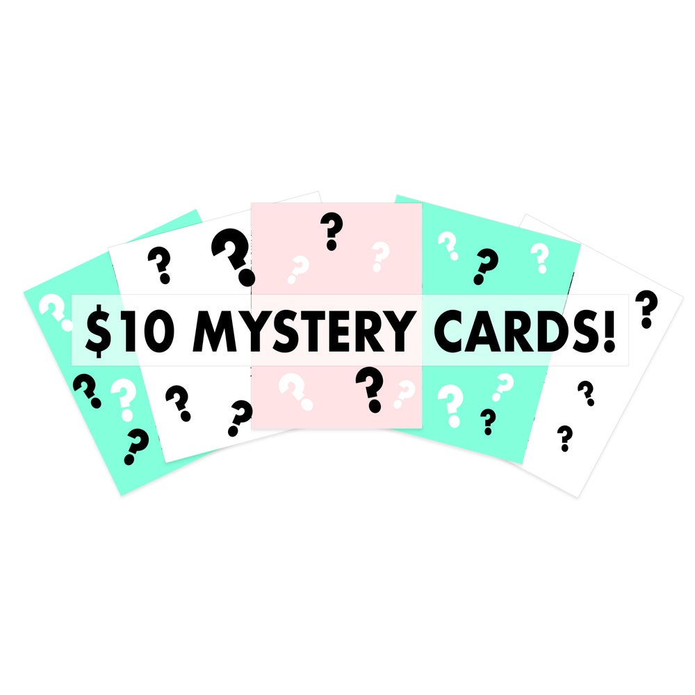 Image of $10 Mystery Card 5 Pack