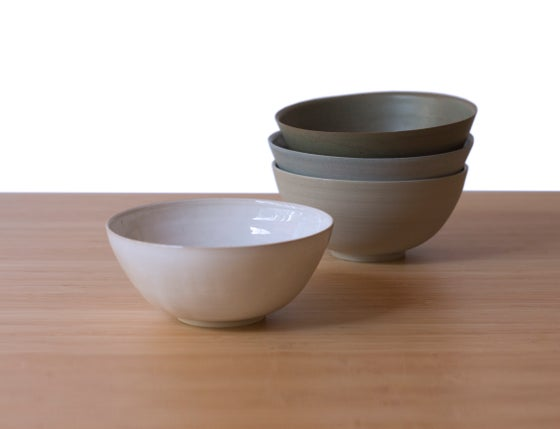 Image of Petite Bowl in White Frost