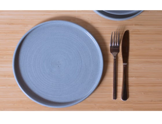 Image of Dinner Plate in Winter Blue