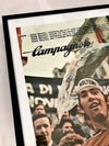 1978 Campagnolo Poster of Eddy Merckx & Tulio Campagnolo