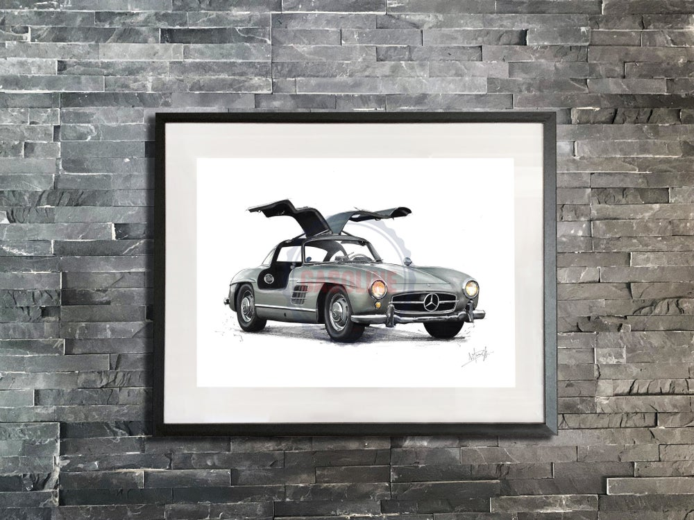 Image of Mercedes 300SL Gullwing