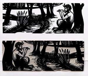 Image of Poetry Print - Elizabeth Barrett Browning