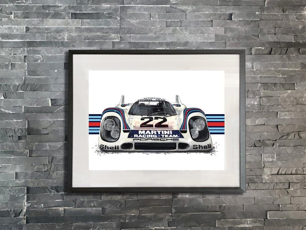 Image of Porsche 917K print