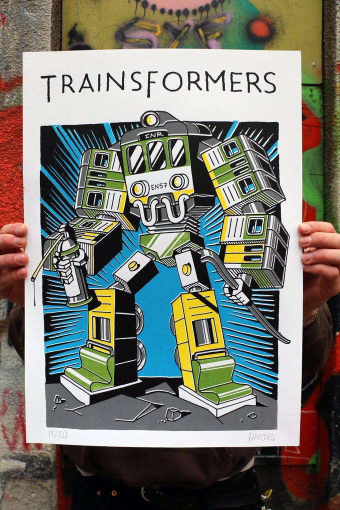 "Image of Finer ""Trainsformers (2)"""