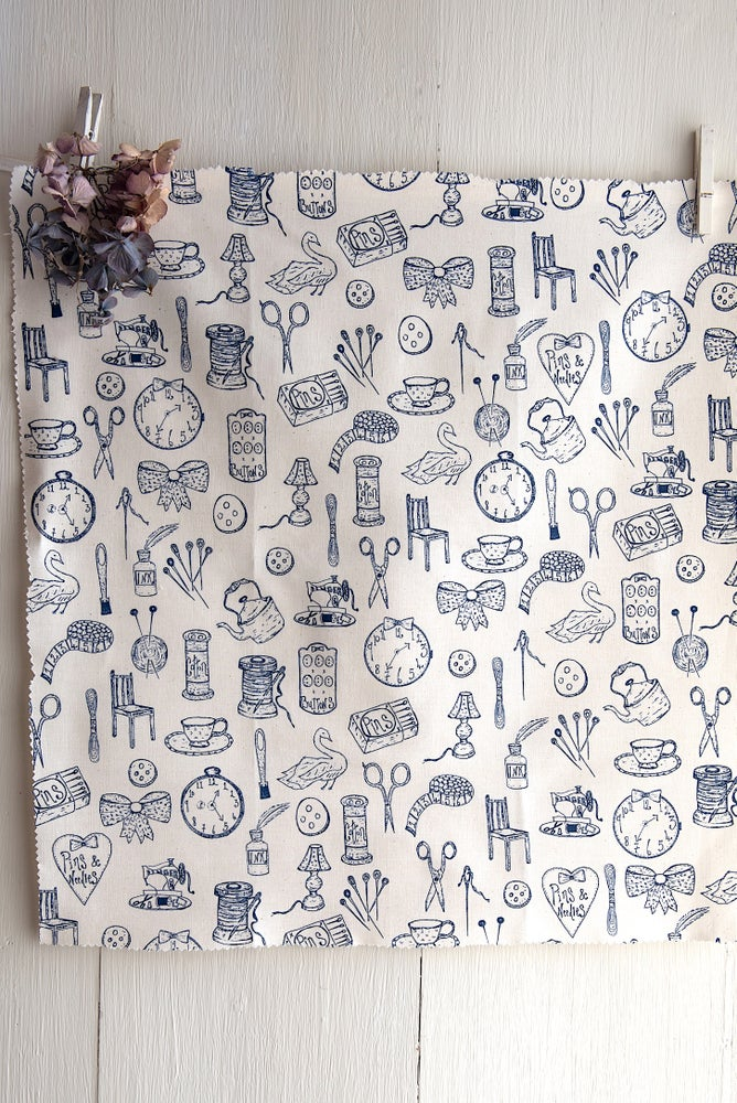 Image of 'Tools Of The Trade' fabric