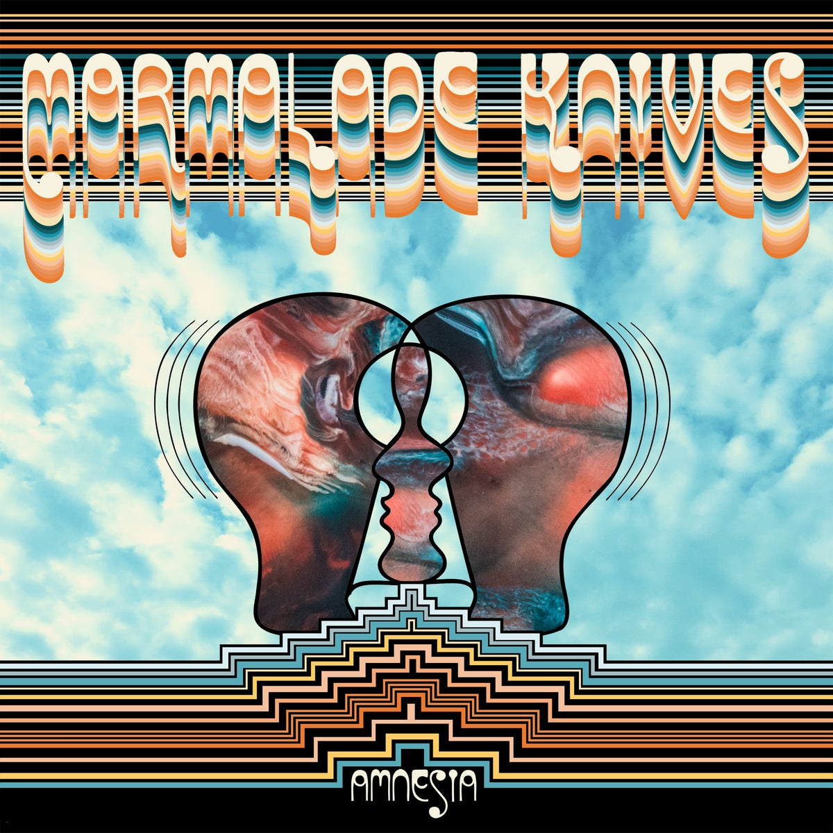 Image of Marmalade Knives - Amnesia LTD Random Marbled Vinyl