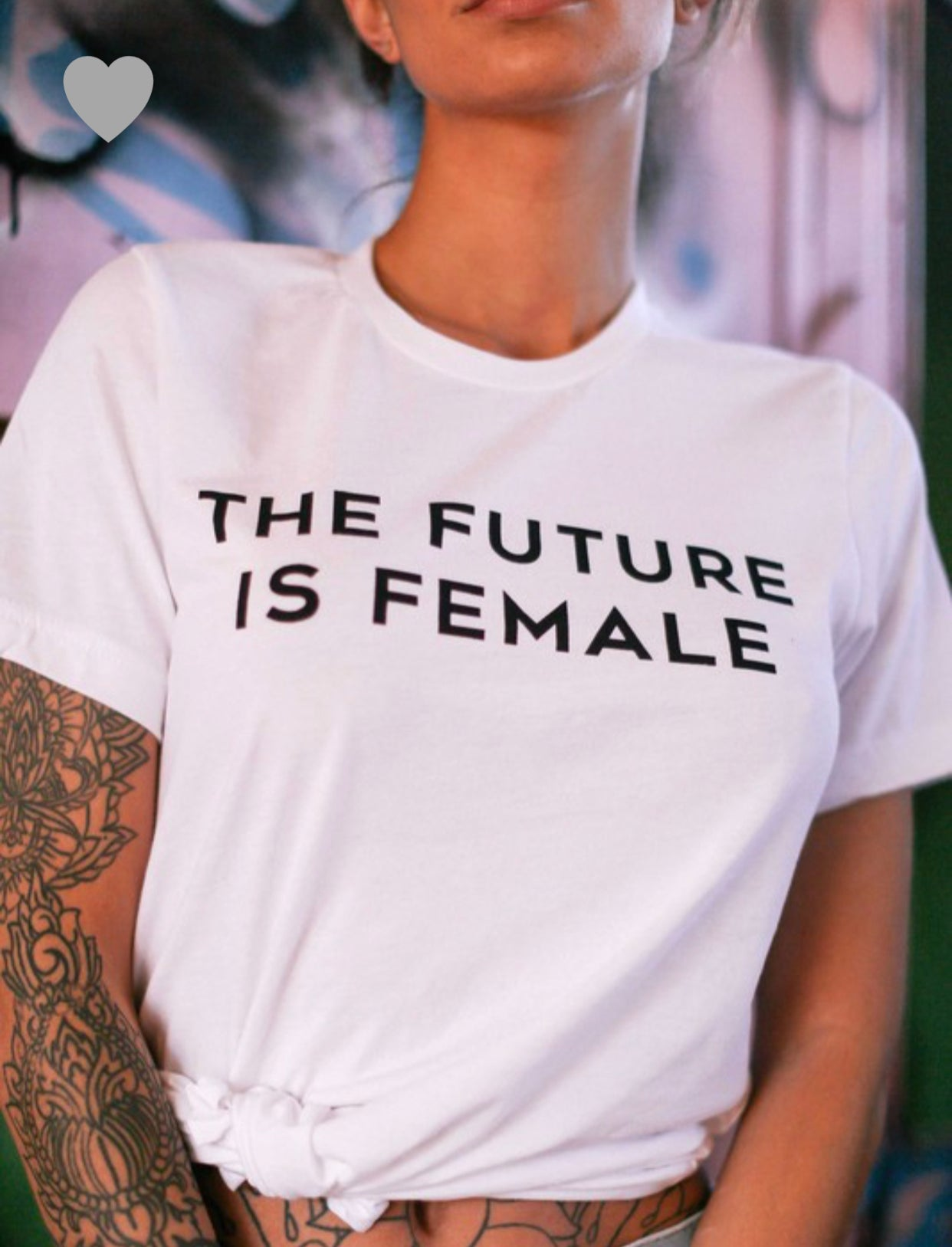 Image of THE FUTURE IS FEMALE TEE