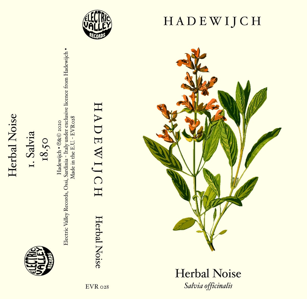 Image of Hadewijch - Herbal Noise Cassette