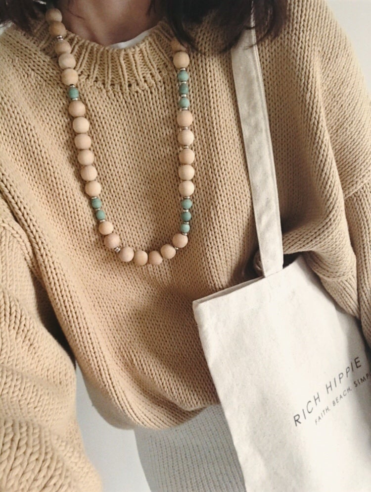 Image of Chunky Love Bead Necklace #109