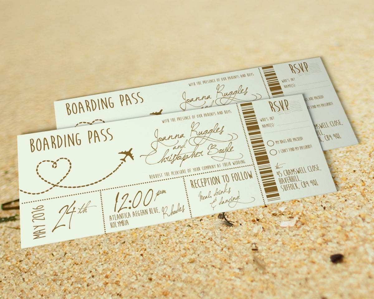 Mint Boarding Pass