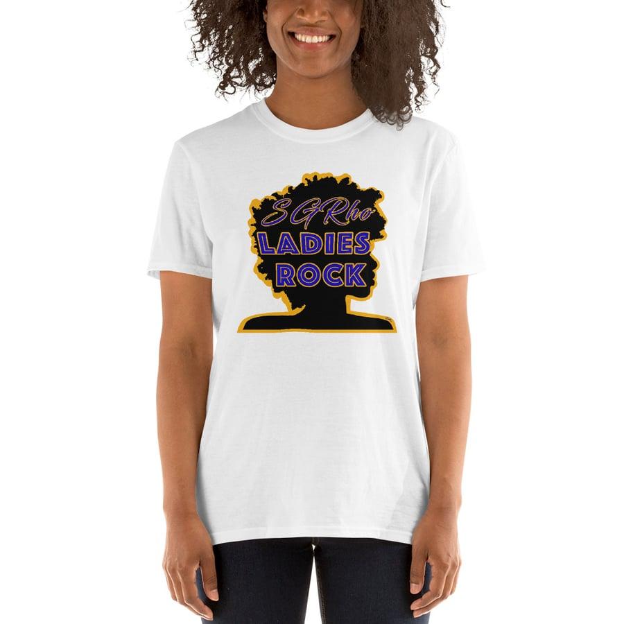 Image of SGRho Ladies Rock T-Shirt