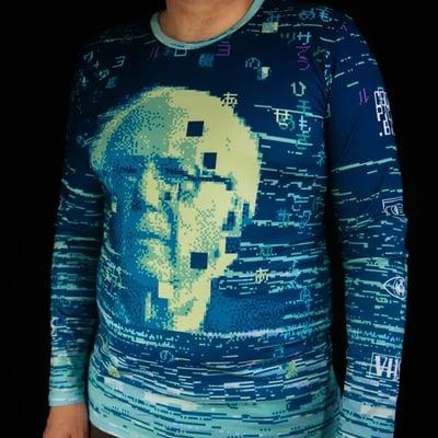 Image of 8-Bit Bernie Longsleeve Shirt (2nd Edition