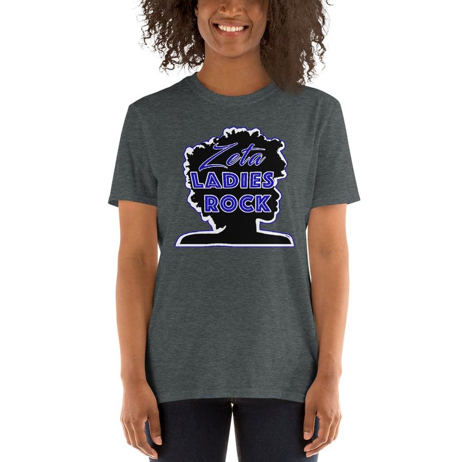 Image of Zeta Women Rock T-Shirt