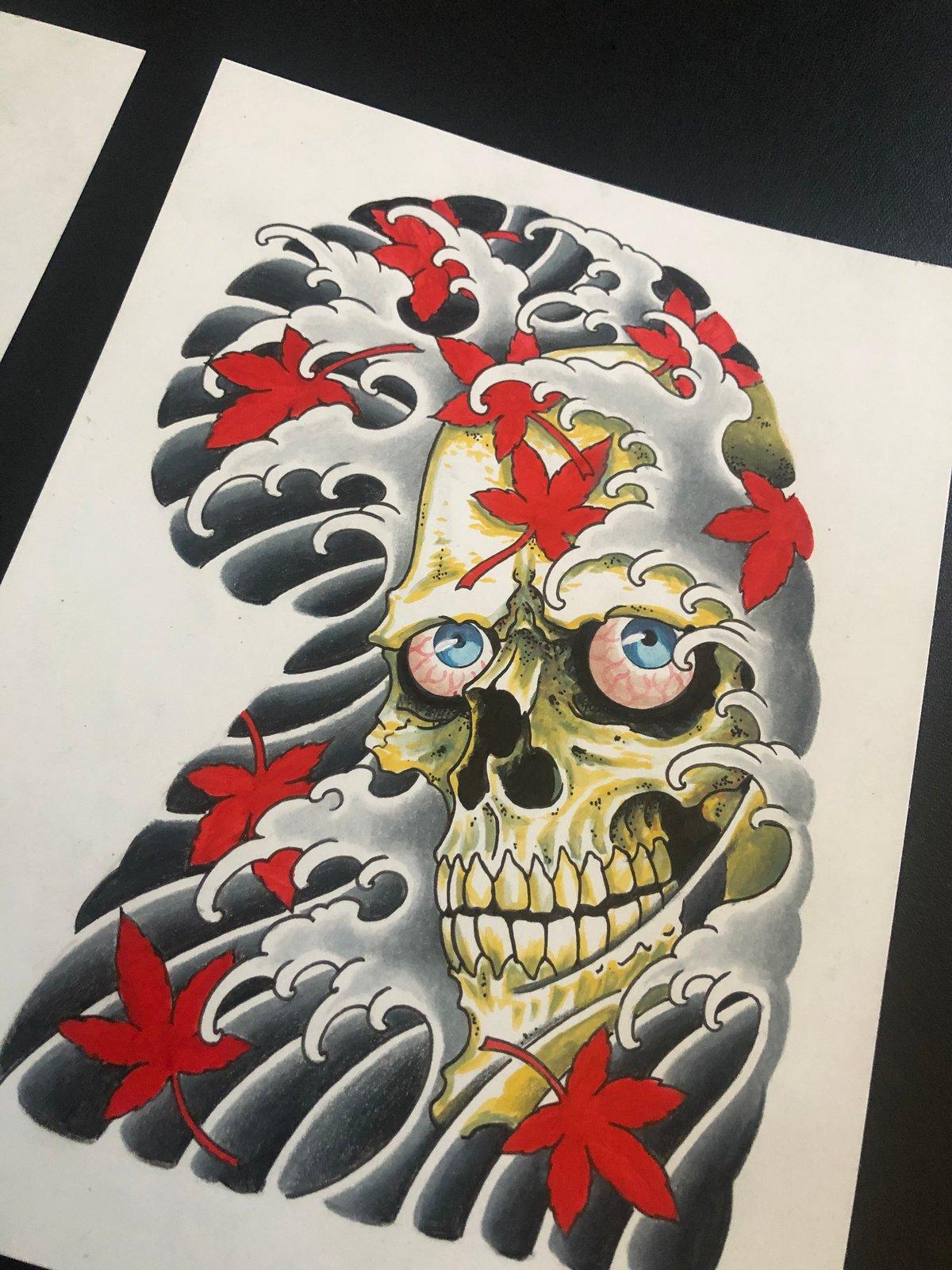 Skulls Half Sleeve Set