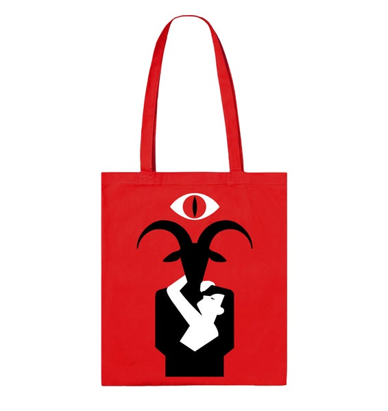 "Image of Tote bag ""Romantik"""